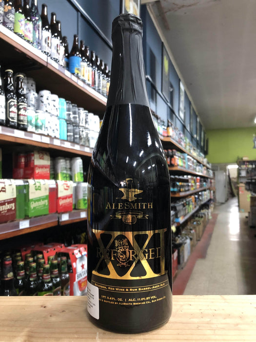 AleSmith Reforged XXI Barrel-Aged Anniversary Ale 750ml - Purvis Beer