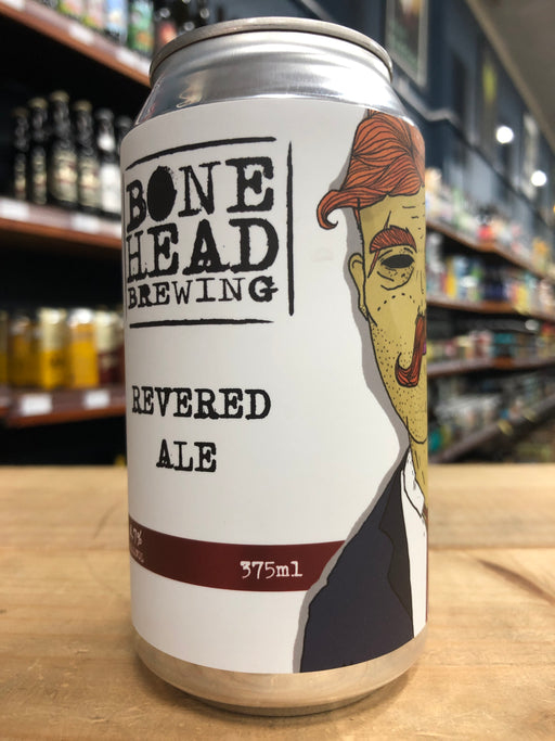 Bonehead Revered Ale 375ml Can