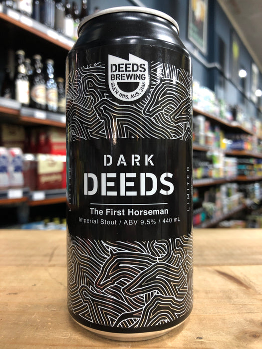 Dark Deeds The First Horseman Imperial Stout 440ml Can
