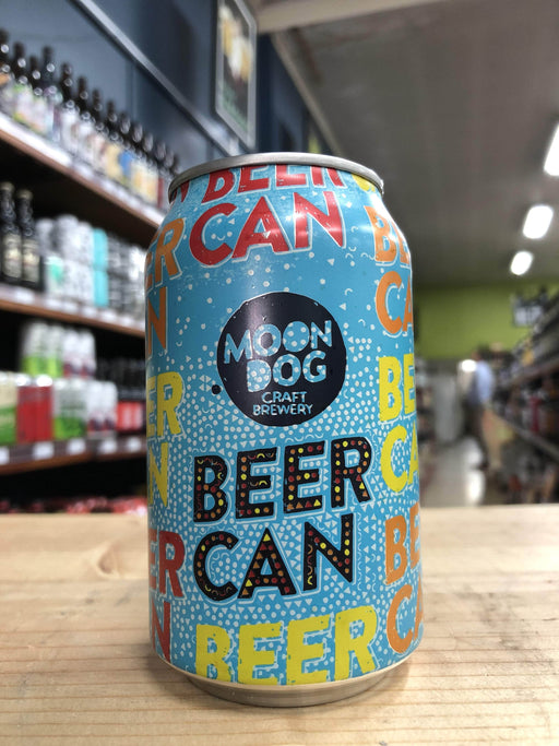 Moon Dog Beer Can Hoppy Lager 330ml