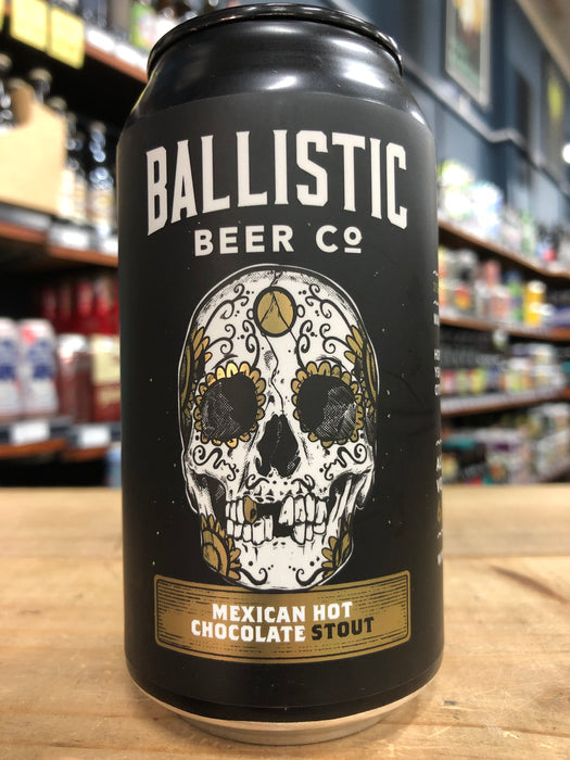 Ballistic Mexican Hot Chocolate Stout 375ml Can