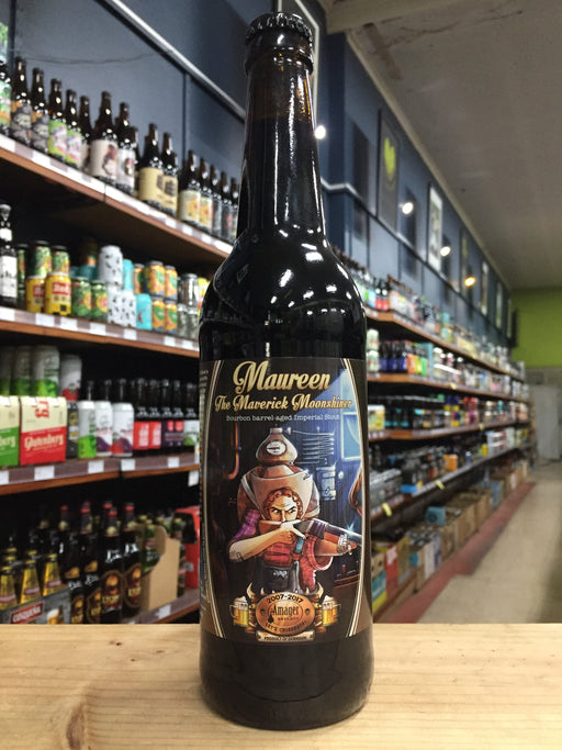Amager Maureen the Maverick Moonshiner Barrel-Aged Imperial Stout 500ml
