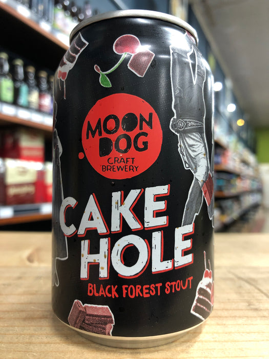 Moon Dog Cake Hole Black Forest Stout 330ml Can
