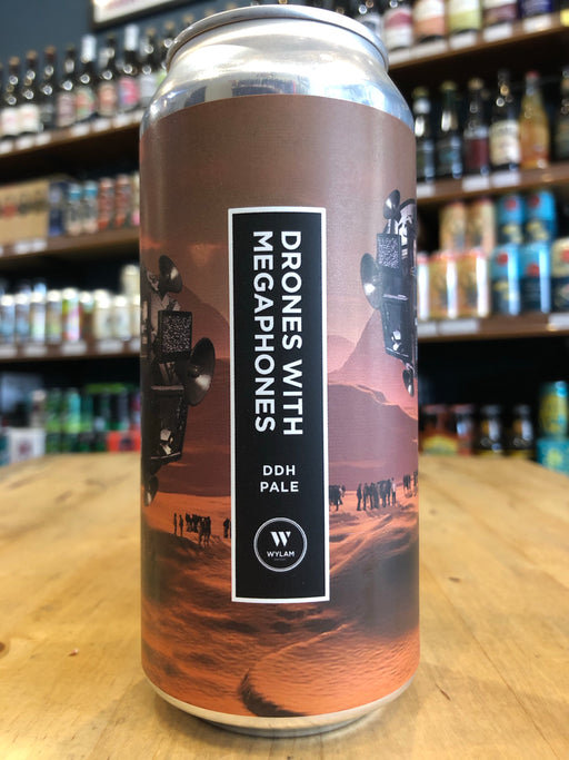 Wylam Drones With Megaphones DDH Pale 440ml Can