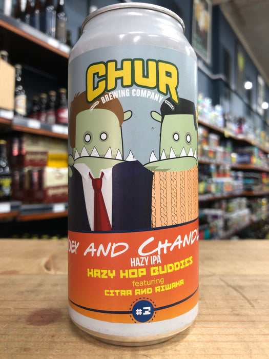 Chur Joey And Chandler - Hazy Hop Buddies #2 440ml Can