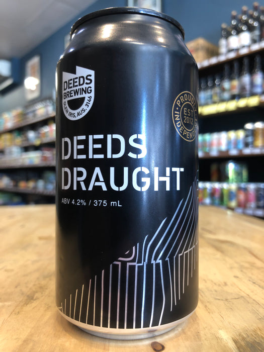 Deeds Draught 375ml Can