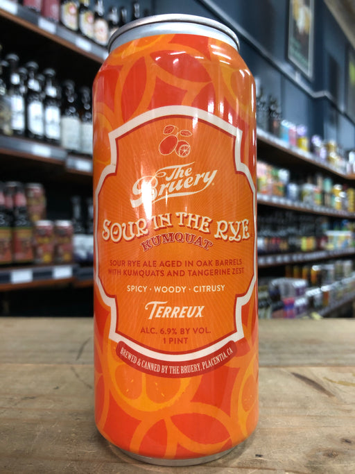The Bruery Sour in the Rye Kumquats 473ml Can