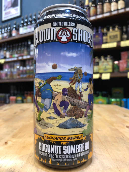 Clown Shoes Coconut Sombrero 473ml Can