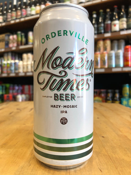Modern Times Orderville Hazy IPA 473ml Can