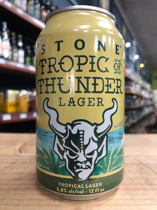 Stone Tropic of Thunder Lager 355ml Can