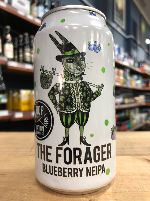 Hop Nation The Forager Blueberry NEIPA 375ml Can
