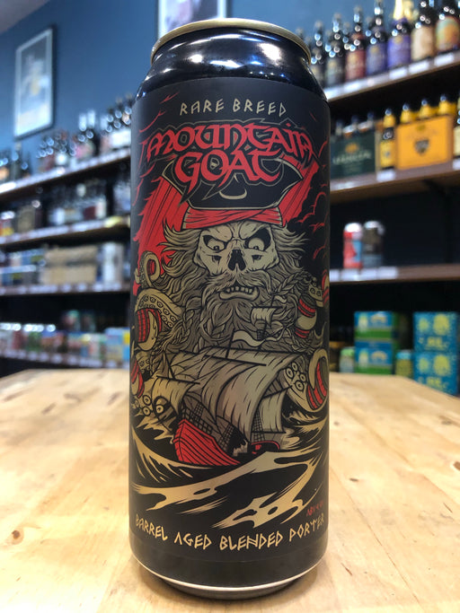 Mountain Goat Rare Breed Barrel Aged Blended Porter 500ml Can