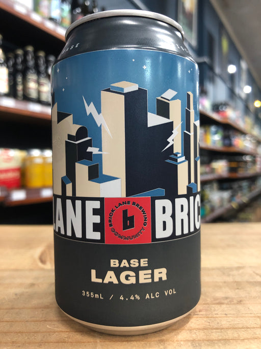 Brick Lane Base Lager 355ml Can
