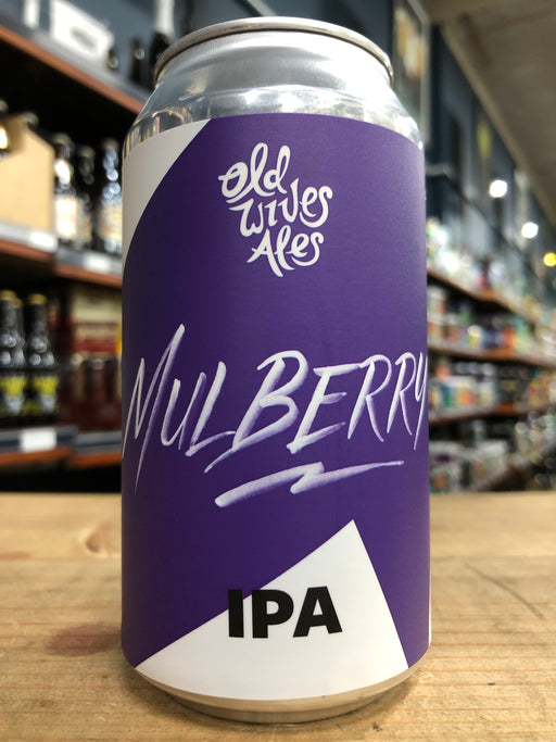 Old Wives Ales Mulberry IPA 375ml Can