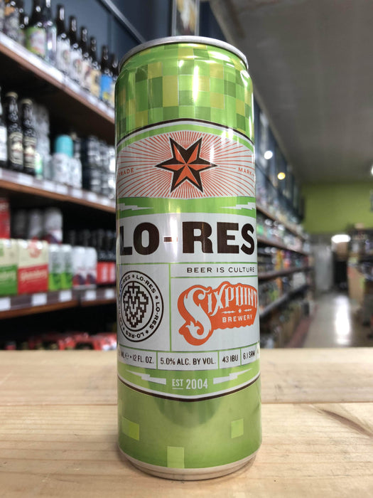 SixPoint Lo-Res Session IPA 355ml Can