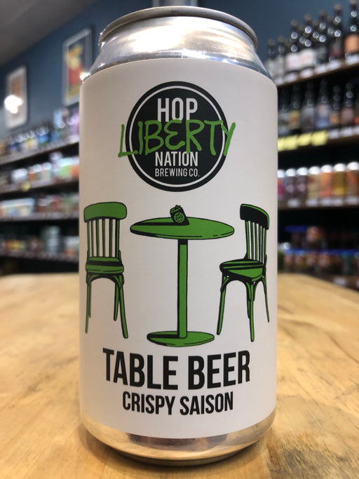 Hop Nation Table Beer - Crispy Saison 375ml Can