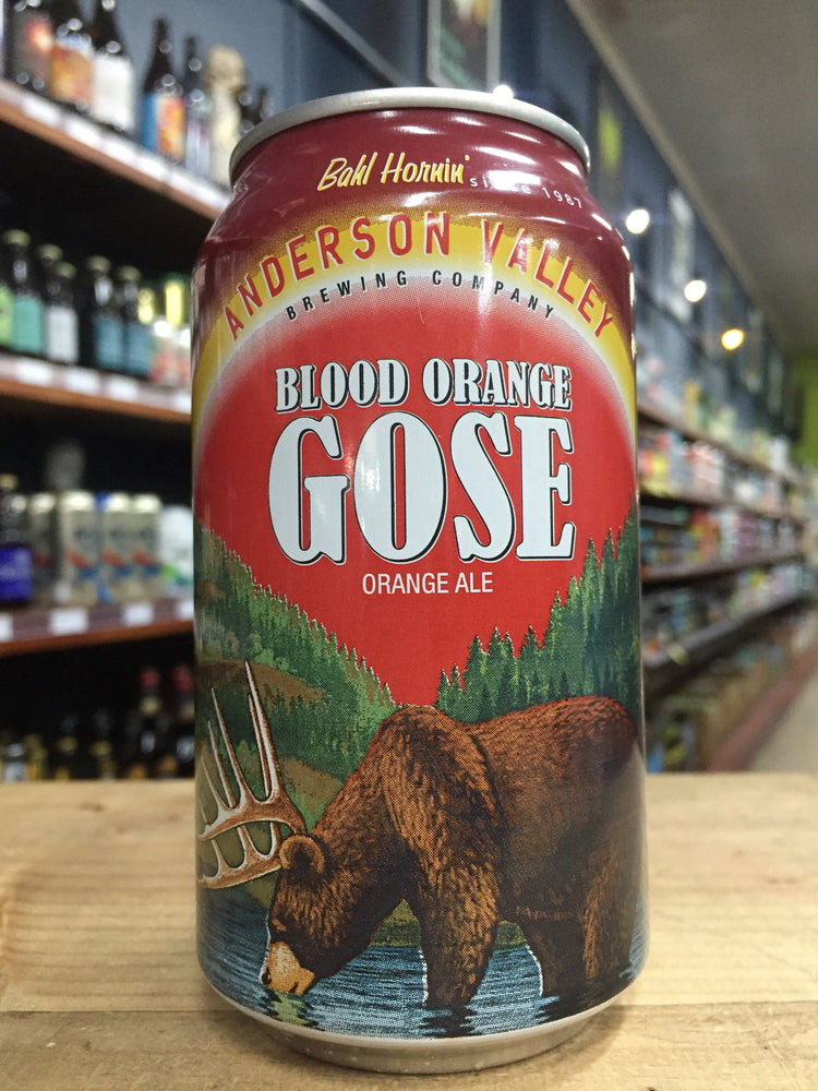 Anderson Valley Blood Orange Gose 355ml Can
