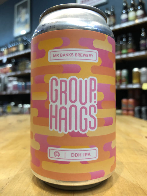 Mr Banks Group Hangs DDH IPA 355ml Can