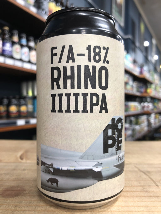 Hope F/A-18% Rhino IIIIIPA 375ml Can
