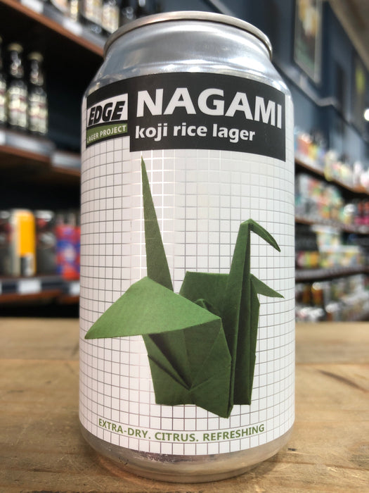 Edge Nagami Koji Rice Lager 355ml Can
