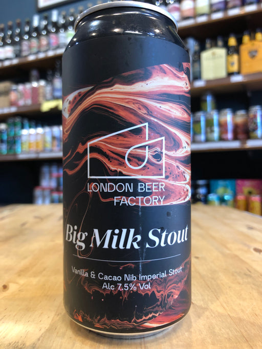 London Beer Factory Big Milk Stout 440ml Can