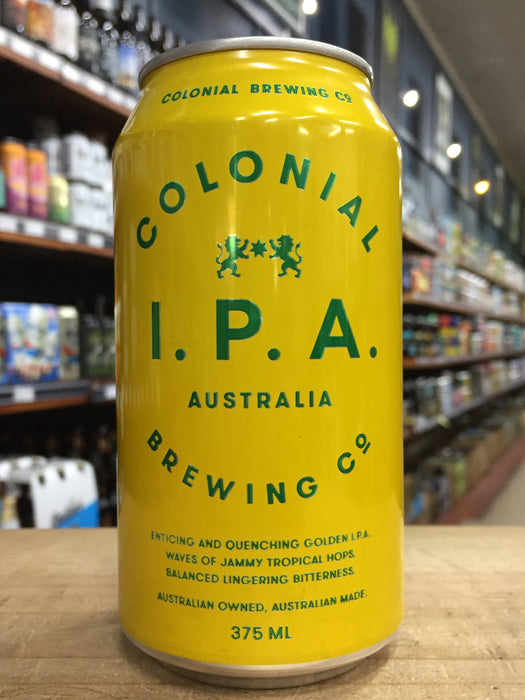 Colonial IPA 375ml Can