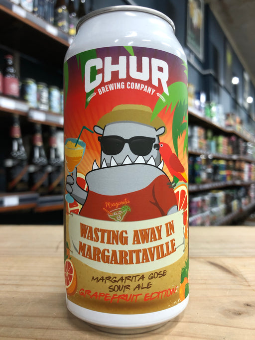 Chur Wasting Away In Margaritaville Grapefruit Edition 440ml Can