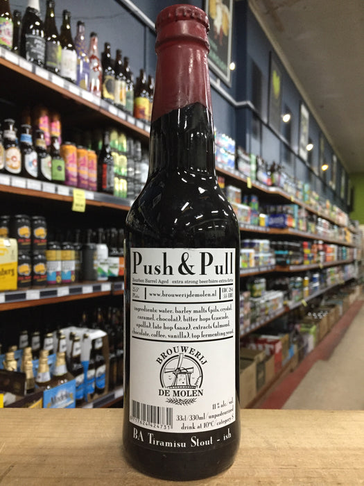 De Molen Push & Pull Bourbon BA 330ml
