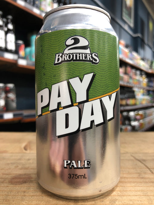 2 Brothers Pay Day Pale Ale 375ml Can