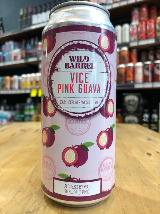 Wild Barrel Vice Pink Guava 473ml Can