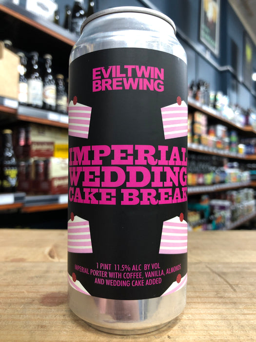 Evil Twin Imperial Wedding Cake Break 473ml Can