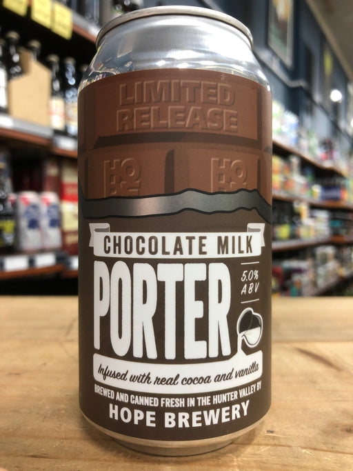 Hope Chocolate Milk Porter 375ml Can