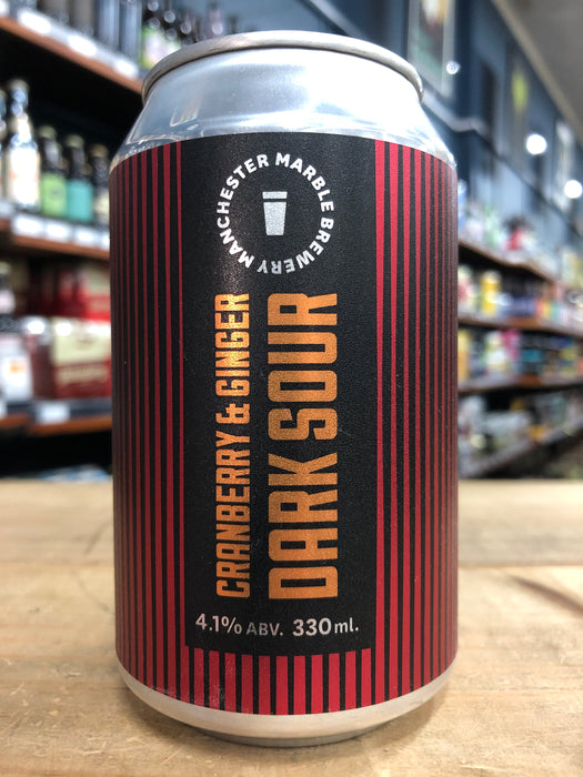 Marble Beers Cranberry & Ginger Dark Sour 330ml Can
