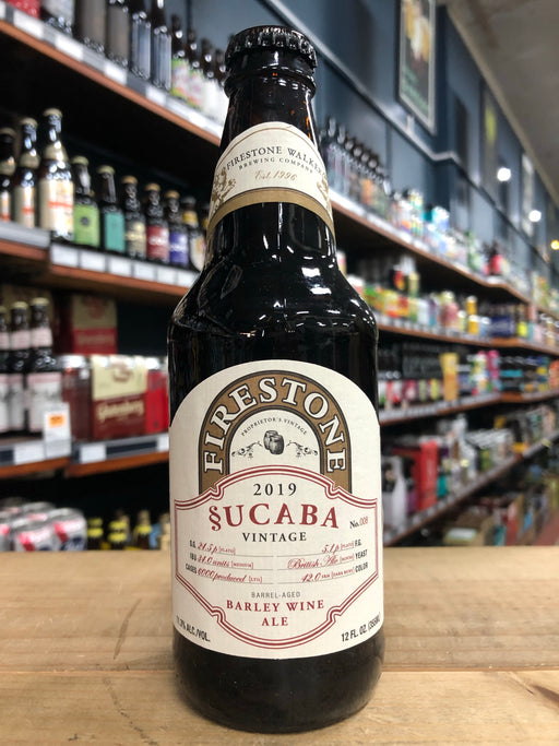 Firestone Walker Sucaba 2019 Barley Wine 375ml