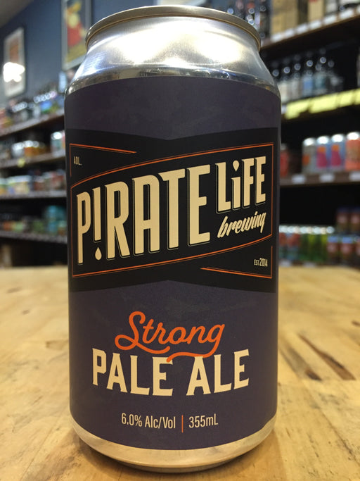 Pirate Life Strong Pale Ale 355ml can
