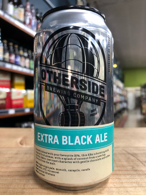 Otherside XBA Extra Black Ale 375ml Can