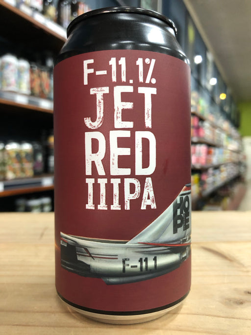 Hope F-11.1 Jet Red IIIPA 375ml Can