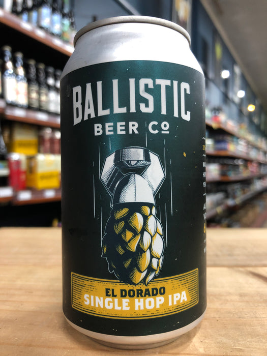 Ballistic El Dorado Single Hop IPA 375ml Can