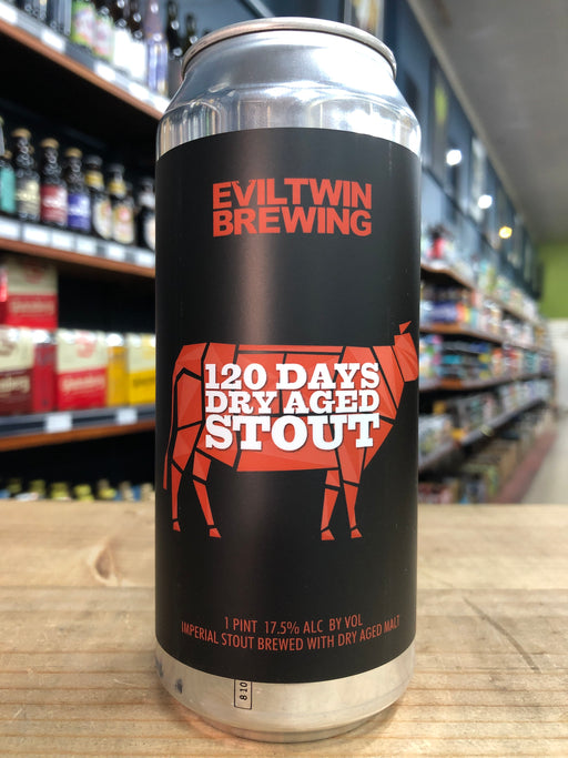 Evil Twin 120 Day Dry Aged Stout 473ml Can