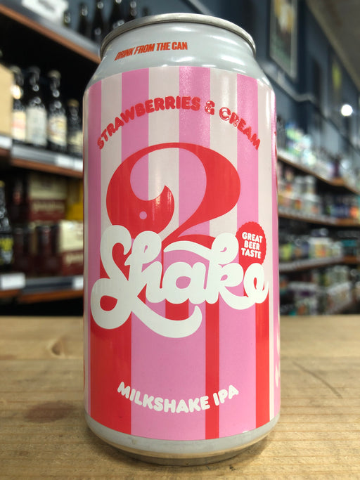 3 Ravens Strawberries & Cream Shake IPA 375ml Can