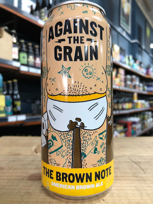 Against the Grain The Brown Note Brown Ale 473ml Can