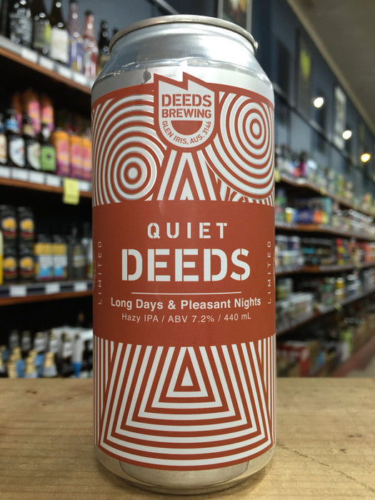 Quiet Deeds Long Days and Pleasant Nights Hazy IPA 440ml Can