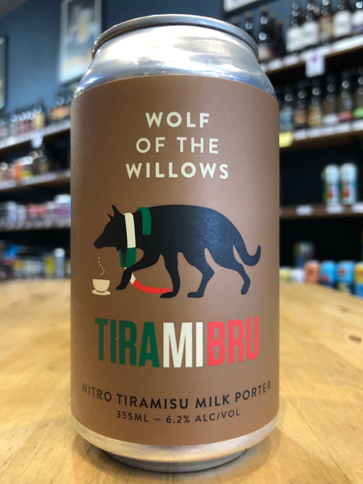 Wolf Of The Willows Tiramibru 355ml Can