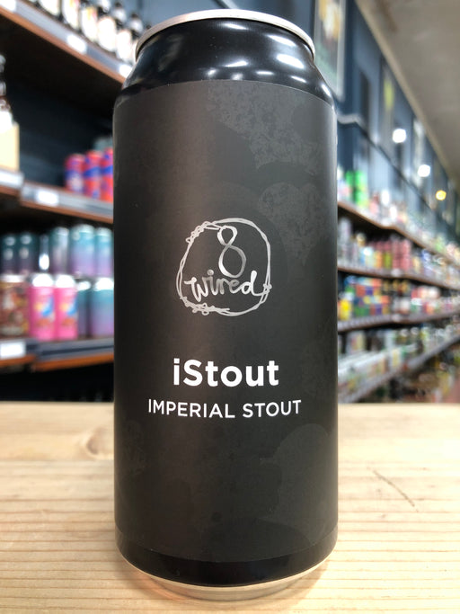 8 Wired iStout 440ml Can