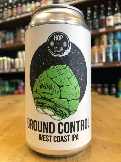 Hop Nation Ground Control West Coast IPA 375ml Can