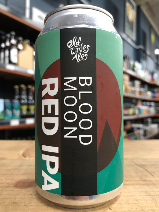 Old Wives Ales Blood Moon Red IPA 375ml Can