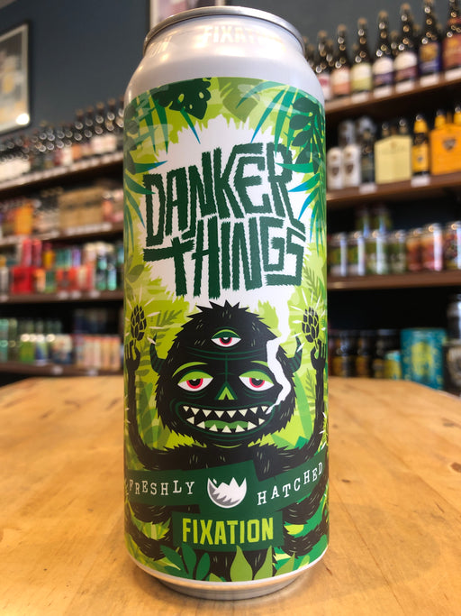 Fixation Danker Things Hazy IPA 500ml Can
