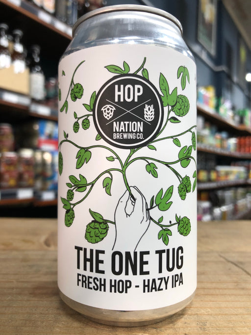 Hop Nation One Tug - Fresh Hop Hazy IPA 375ml Can