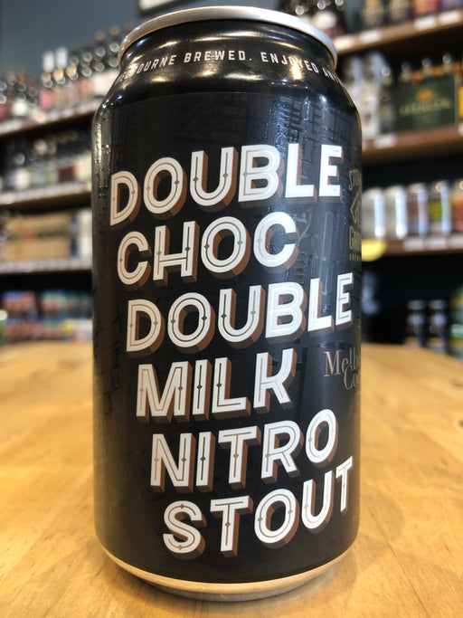 Stomping Ground Double Choc Double Milk Nitro Stout 355ml Can