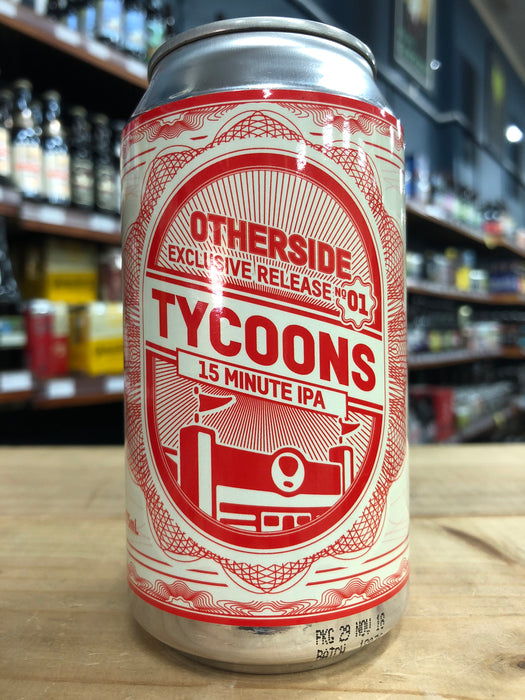Otherside Tycoons 15 Minute IPA 375ml Can
